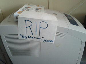 RIP big mamma