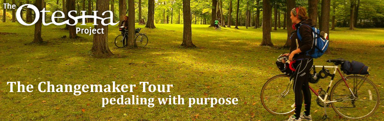 The Changemaker Tour - Pedaling with Purpose