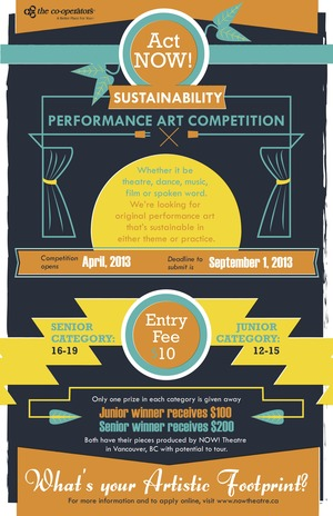 Act NOW! Sustainability Art Competition