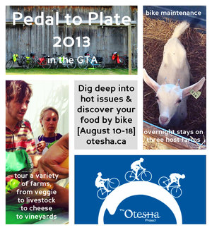 Pedal to Plate Tour - Apply now!